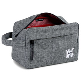 Herschel Chapter Kit de Viaje, raven crosshatch